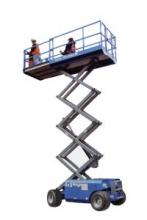 26 Ft Rough Terrain Scissor Lift DSL