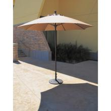 Umbrella with black base