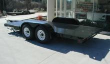 7 ft. by 18 ft. Equipment Trailer