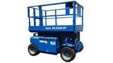 32 Ft Scissor Lift RT 4 X 4