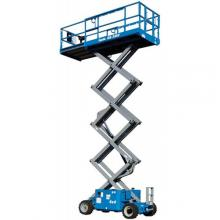 33 Ft Scissor Lift Rough Terrain