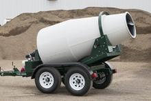 Roto Mixer Trailer 1 yard